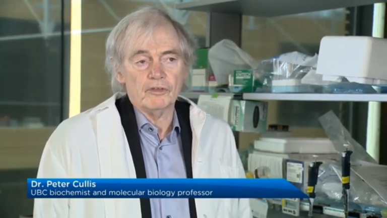GlobalNews talks to Dr. Pieter Cullis about enabling Pfizer's COVID-19 vaccine