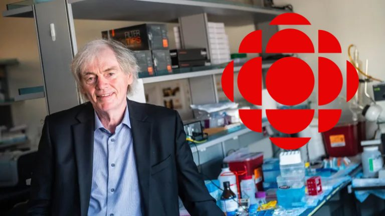 Dr. Pieter Cullis interviewed by CBC's Quirks & Quarks on COVID vaccine role