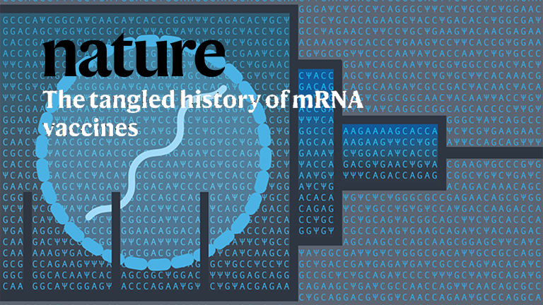 Nature on the development of mRNA vaccinesincluding their LNP delivery technology