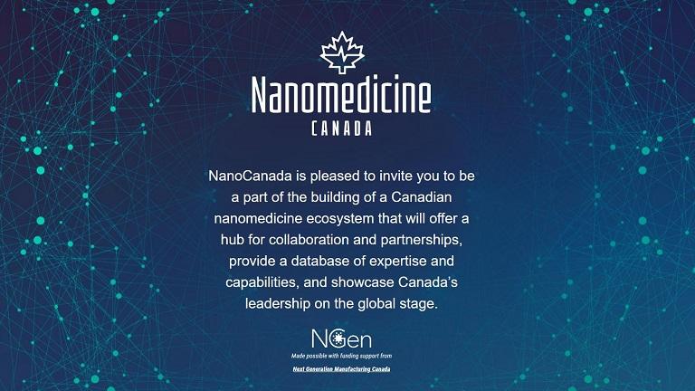 Join Nanomedicine Canada to strengthen Canada's nanomedicine ecosystem & reap benefits